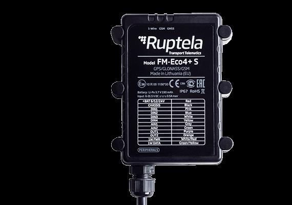 GPS-трекер Ruptela FM-Eco4+ S для спутникового мониторинга