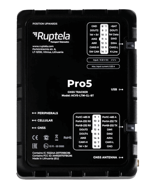 GPS-трекер Ruptela Pro5