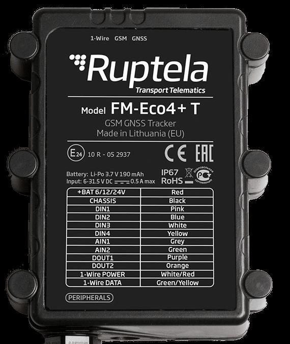 GPS-трекер Ruptela FM-Eco4+ T